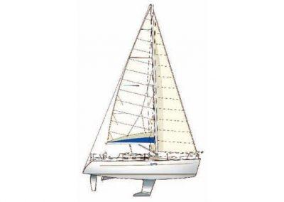 32' Beneteau Oceanis Clipper 323