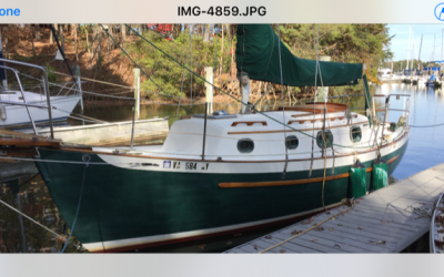 1986 Pacific Seacraft Dana 24